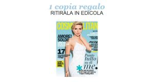 coupon copia omaggio Cosmopolitan 8 2017
