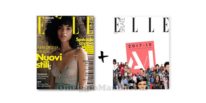 coupon omaggio Elle 8 2017