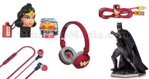 gadget Wonder Woman e Justice League