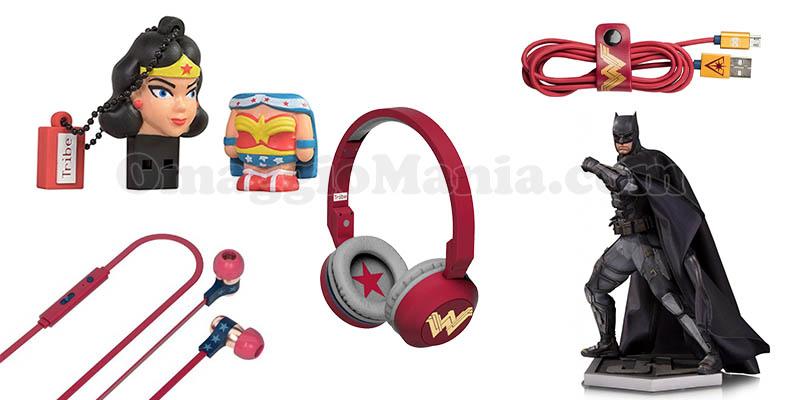 gadget Wonder Woman e Justice League