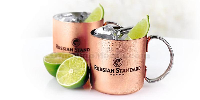 kit copper mug Russian Standard Vodka