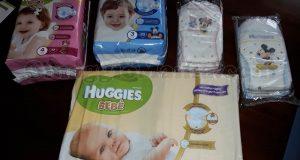 kit pannolini Huggies con Testamus Mamme 2.0