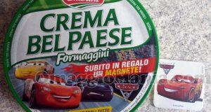 magneti Cars 3 con Galbani Crema Bel Paese