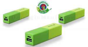 powerbank Cellularline con Chanteclair Vert