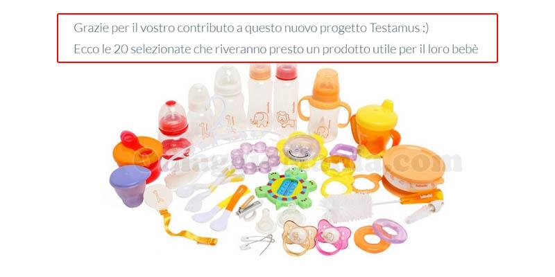 selezione tester Testamus Mamme 2.0
