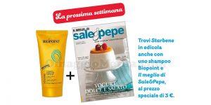 shampoo doposole Biopoint con Starbene e Il meglio di Sale&Pepe