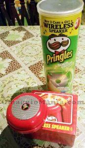 speaker wireless Pringles di Rosa
