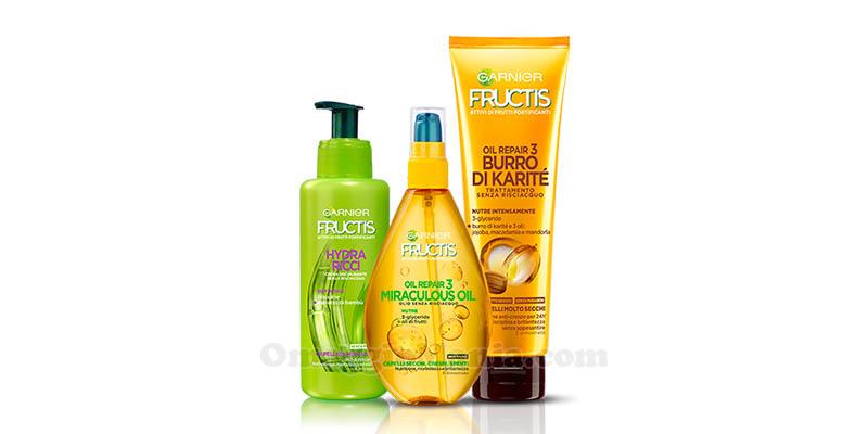 trattamenti capelli Garnier Fructis