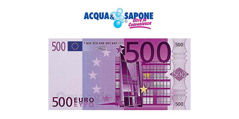 vinci gift card Acqua&Sapone da 500€