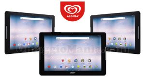 vinci tablet Acer Iconia One 10 con Algida