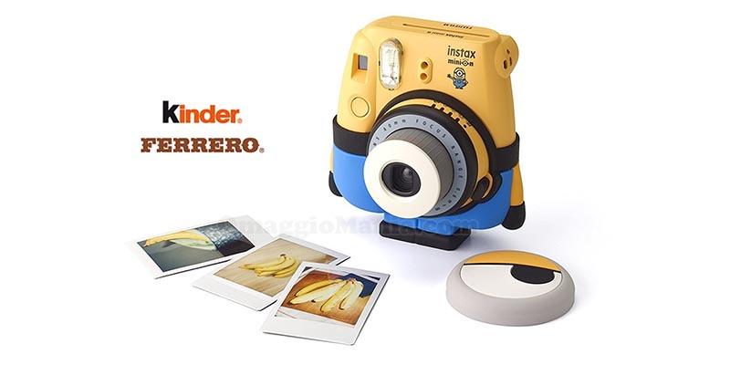 Con Kinder e Ferrero in paio 100 fotocamere istantanee al giorno