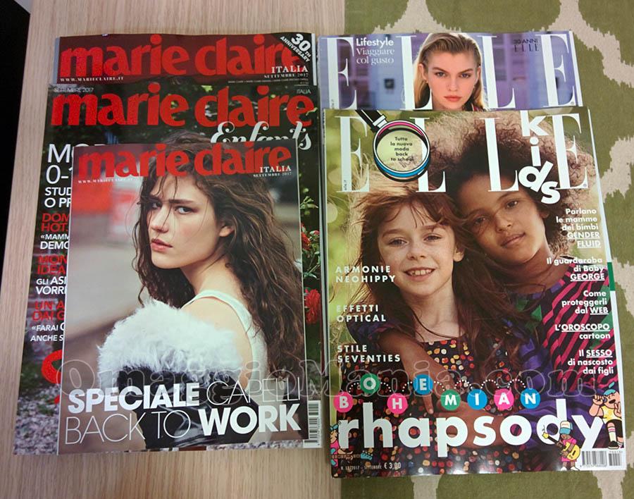 Elle 9 e Marie Claire 9 di Valeria