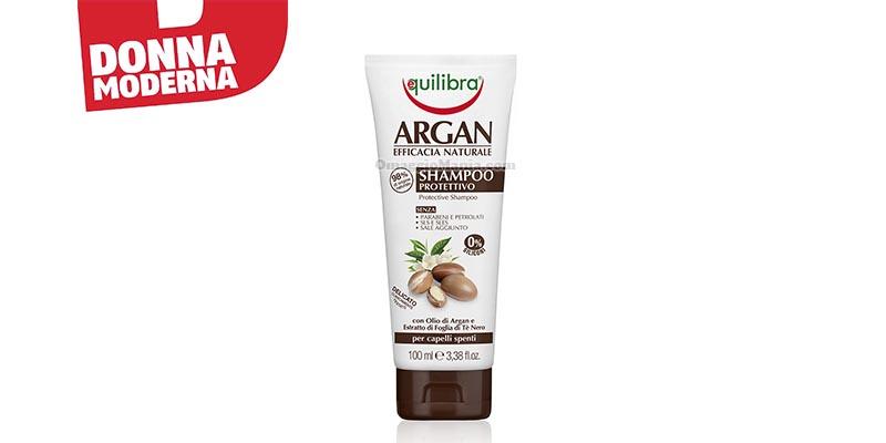 Equilibra Argan Shampoo Protettivo con Donna Moderna
