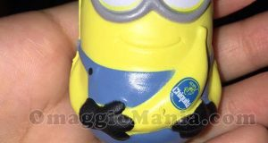 Minion anti-stress omaggio da Chiquita