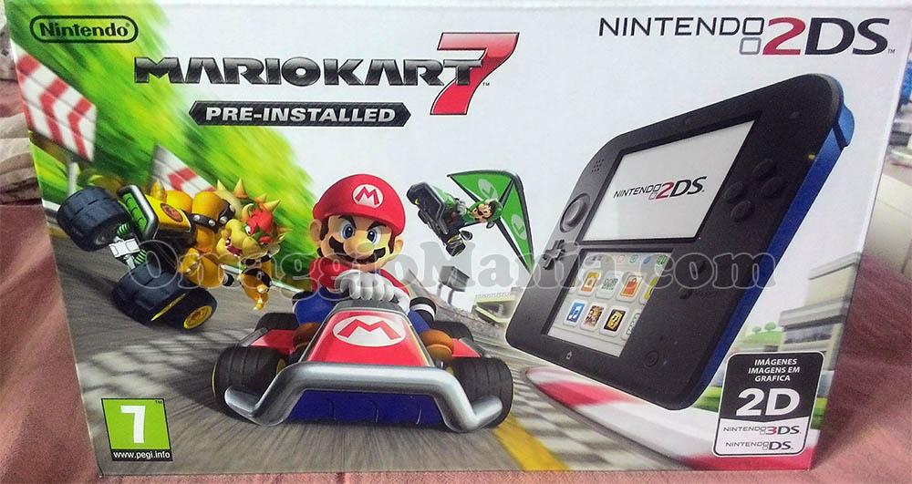 Nintendo 2DS con Mario Kart 7 di Patrizia con Sammontana