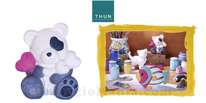 Panda e soggetti THUN In mostra per un amico