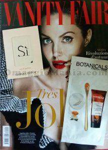 Vanity Fair 38 con campioncino Botanical e Giorgio Armani di Elena
