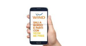 Wind sali a bordo e parti con Veon Be Free