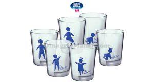 bicchieri Bormioli Rocco con Nestlé Vera