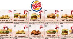 buoni sconto Burger King fino al 20 novembre 2017