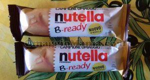 campioni omaggio Nutella B-Ready di Marina