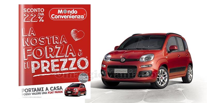 Vinci gratis 25 Fiat Panda - OmaggioMania