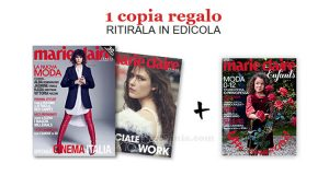coupon omaggio Marie Claire 9 2017