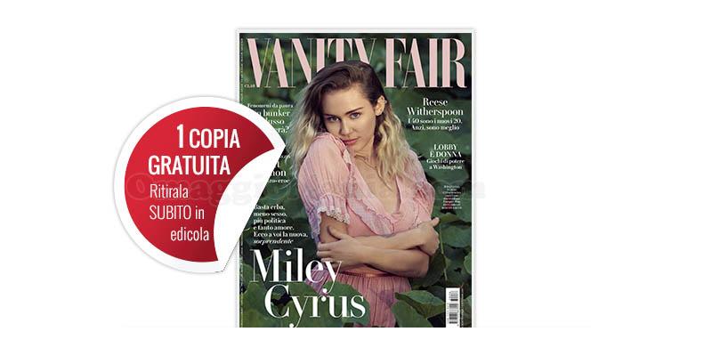 coupon omaggio Vanity Fair 36 2017