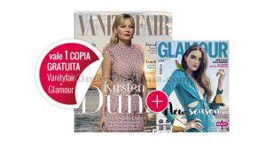 coupon omaggio Vanity Fair 37 e Glamour 303