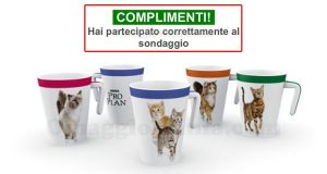 email conferma tazza Purina ProPlan