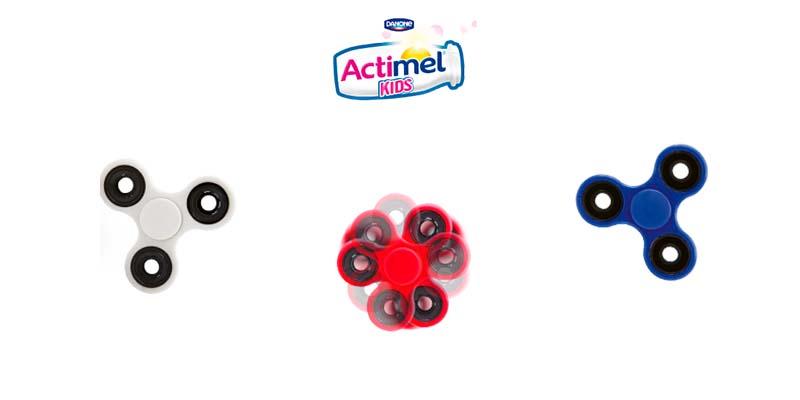 fidget spinner omaggio Actimel