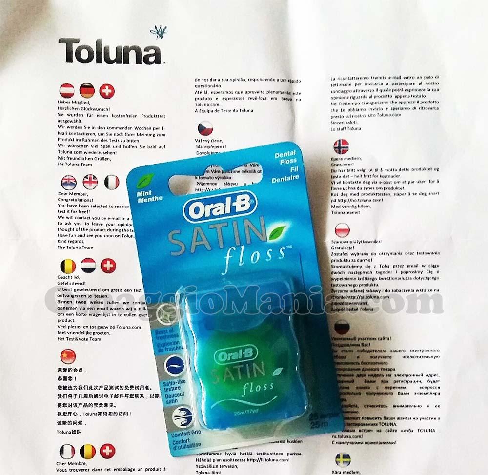 filo interdentale Oral-B di Elena con Toluna