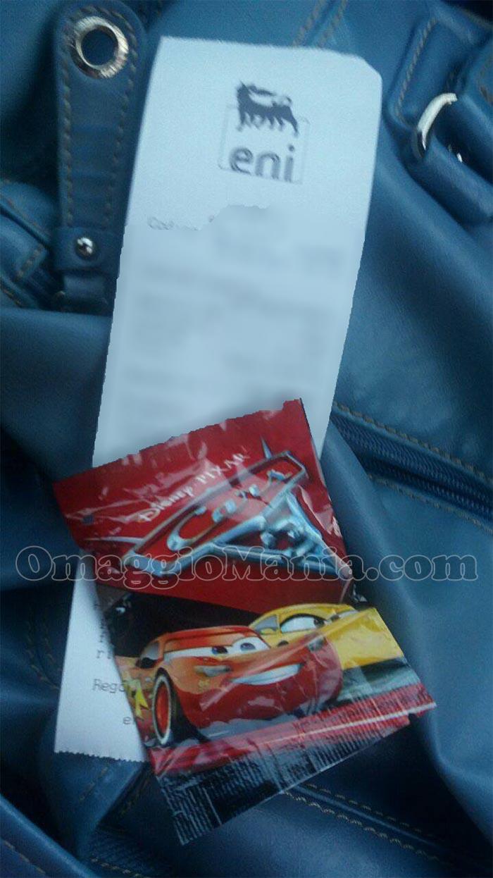 gommina Cars 3 da Eni di Nadia