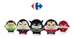 peluche Justice League da Carrefour