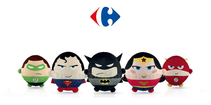 peluche Justice League da Carrefour