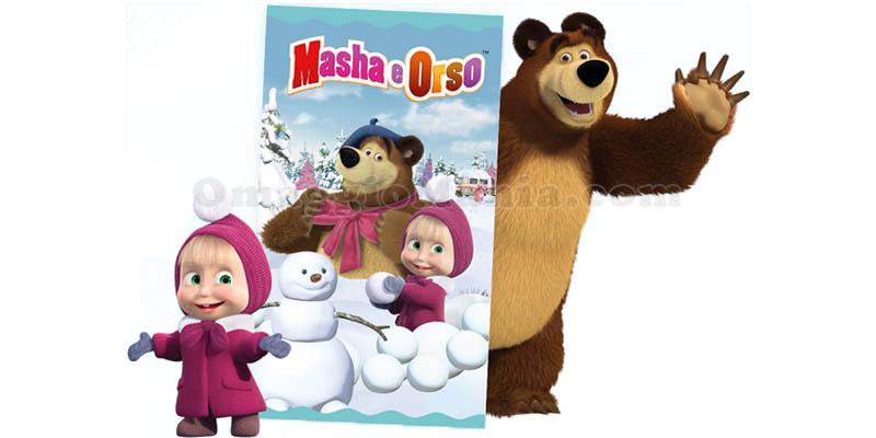 plaid Masha e Orso con Narhinel