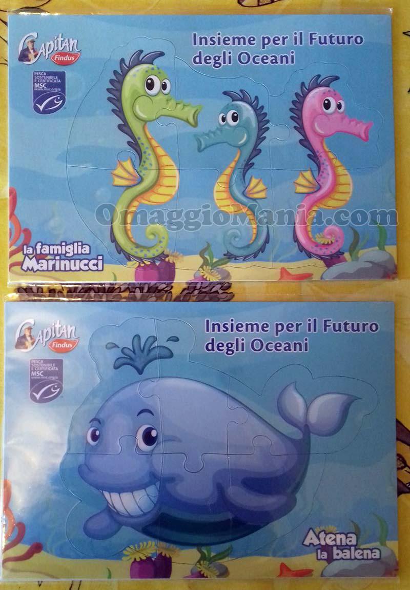 puzzle Findus omaggio di Marina