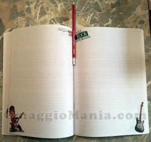 quadernone e matita di Sole con Citterio 3
