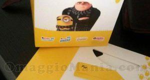 shopper Cattivissimo Me 3 con Kinder
