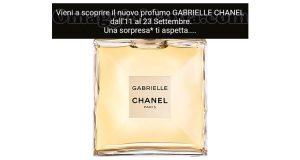 sorpresa Gabrielle Chanel Ethos Profumerie