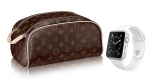 trousse Louis Vuitton e Apple Watch