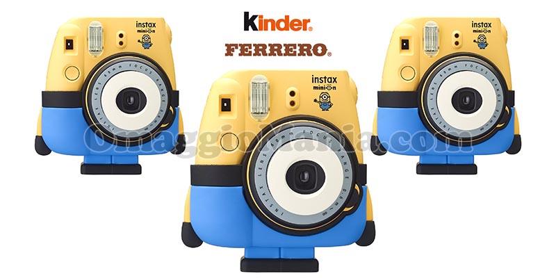 vinci fotocamere Instax Mini Minions con Kinder e Ferrero
