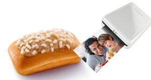 vinci stampante portatile Polaroid con Buondì Motta