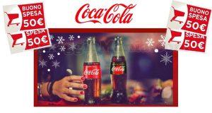 Con Coop e Coca‑Cola puoi vincere un buono spesa Coop da 50€