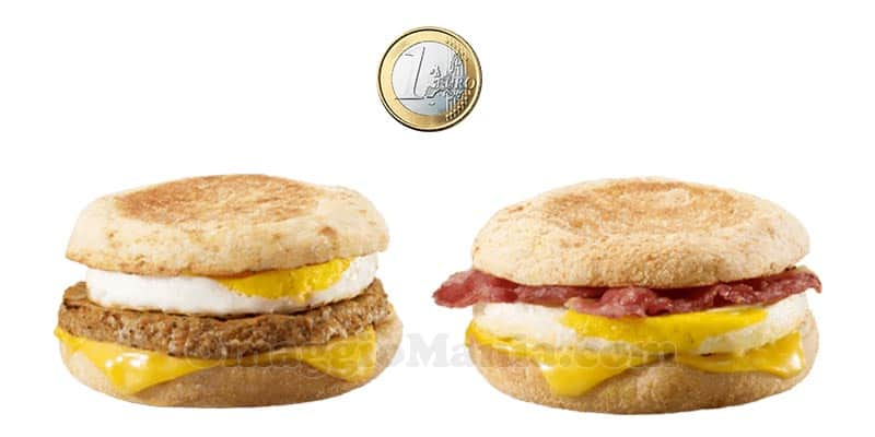 Egg Night McDonald's ottobre 2017
