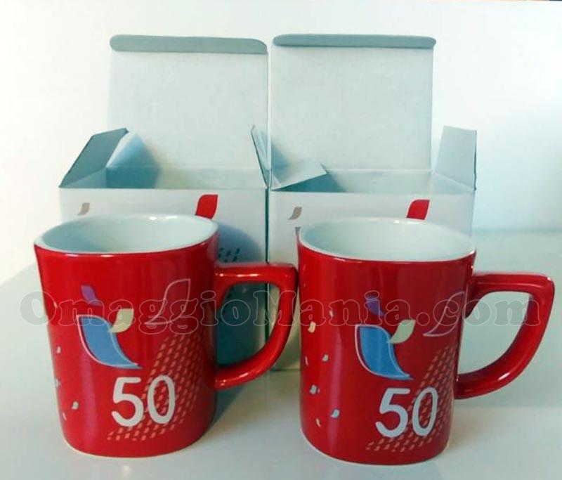 Red Mug Nescafè 50° anniversario