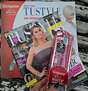 TuStyle con kit sbiancante Colgate di Myriam