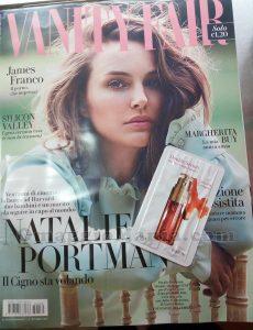 Vanity Fair 39 di Angela con campioncino Clarins Double Serum
