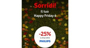 Vodafone Happy Friday buono sconto shop online Philips