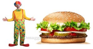 Whopper Burger King clown